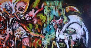 Toothy and Lardhead by nico37