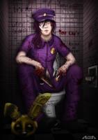 Purple Guy - Do not disturb by A-lichka