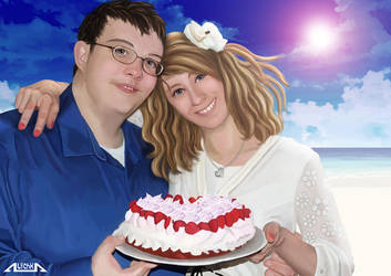 Valentine's Cake by A-lichka