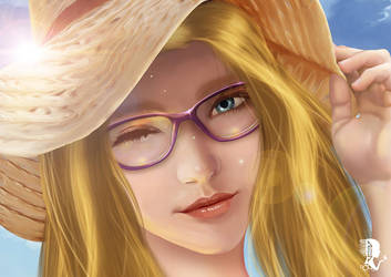 Sunny summer by A-lichka