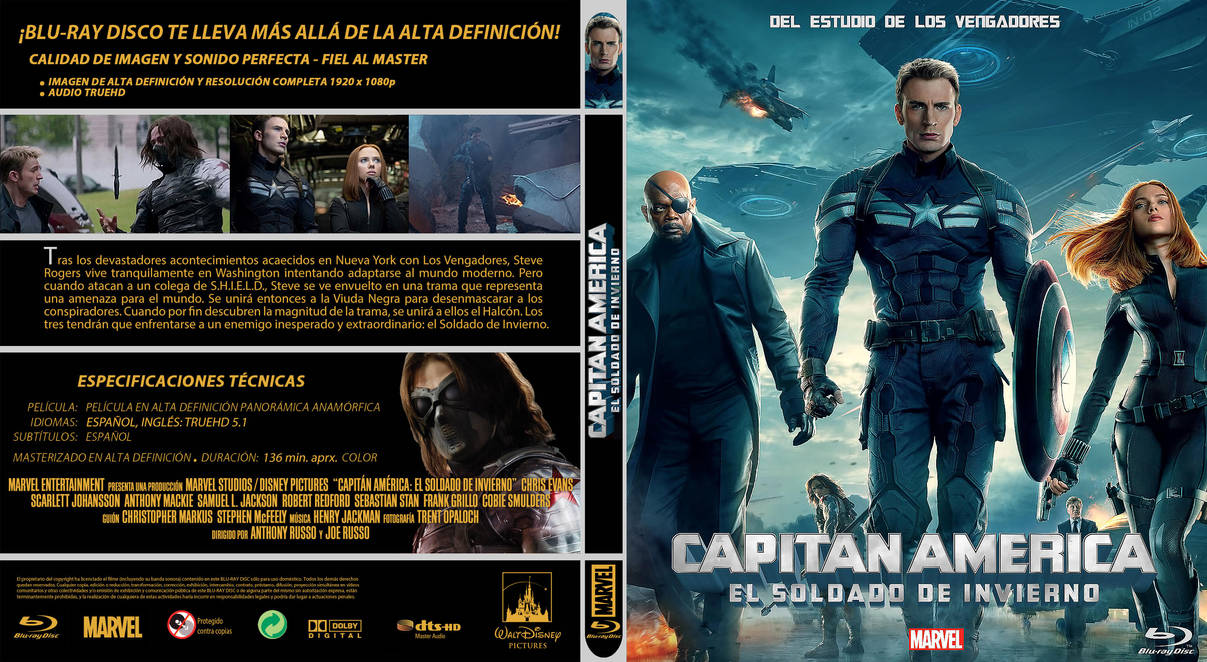 MCU Capitan America El Soldado de Invierno by elmundodedata