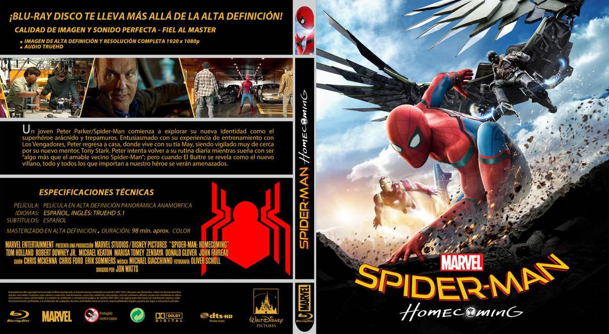 MCU Spiderman Homecoming by elmundodedata