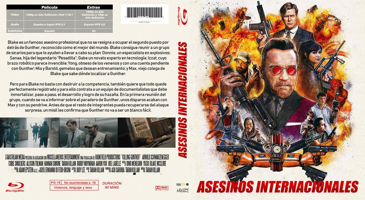 Asesinos Internacionales / Killing Gunther Cover by elmundodedata