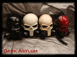 version 2 Skull gas Mask by DarkAsylumxxx