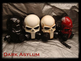 version 2 Skull gas Mask by DarkAsylumxxx