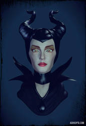 Maleficent 3d Blender by mechanimation