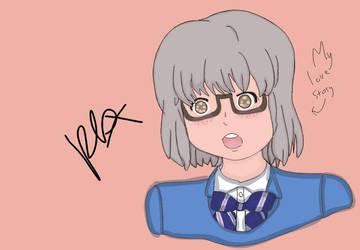 Yukika from my love story. by Pl0xu