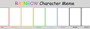 Color Character Meme by ProfessorEliot