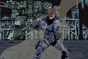 Metal gear Solid by The-Great-Shiniku