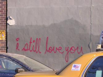 I still love you. by despondentpoplar