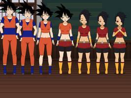 Goku To Kale TG by MrVic25