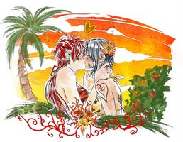 Summer breeze commission - F!KidLaw by ElyonBlackStar