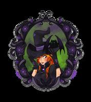Spooky Orihime by ElyonBlackStar