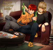 Hbd Mello! by ElyonBlackStar