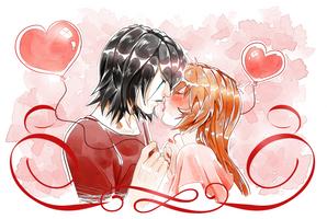 Lovey Dovey by ElyonBlackStar
