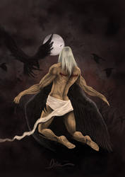 Fallen Angel by pedrum