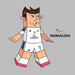 Cristiano Ronaldo by pedrum