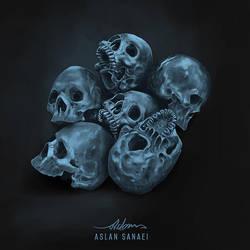 Skull by pedrum