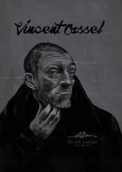 Vincent Cassel by pedrum
