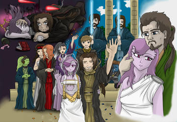 Jedi Weding by Arenoth