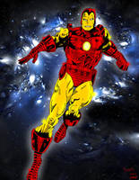 Classic Iron Man by pascal-verhoef