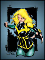 Black Canary DC New 52 - Molenaar and me by pascal-verhoef