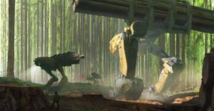Lumber Transport by Robin-Boer