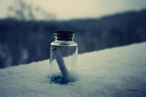 Magic bottle. by MelissaBalkenohl