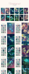 Forget me not - Calendar by anjali