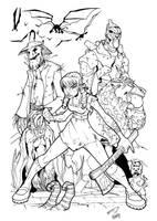 Oz by spyda-man inked by gz12wk