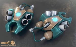 Darkout 3d model: Jetpacks by JeroenBackx