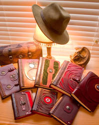 Leather Books by McGovernArts