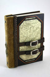Leather Travel Journal by McGovernArts