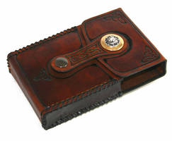 iPhone Leather Belt Case by McGovernArts