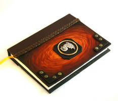 Dragon Leather Journal by McGovernArts