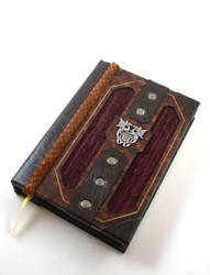 Celtic Dragons Leather Journal by McGovernArts