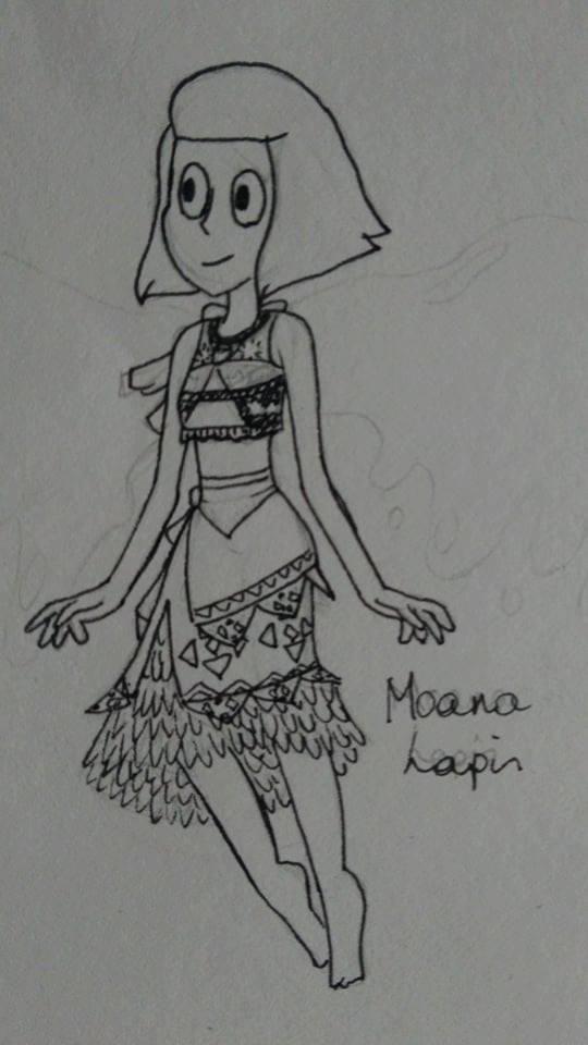 Moana Lapis Sketch by healz4Diamond