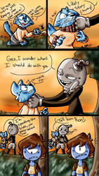Glitchybomb Comic Commission [2/4] by vordella