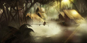 Jungle Village by Goshun