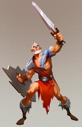 Barbarian by Goshun