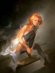 Velvet Stairs by Goshun