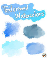 Texturized watercolors for FIREALPACA by AngelArtzUniverse