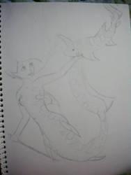 Shark mermaid. by 10stanford