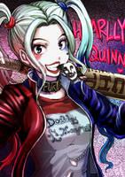 Harley Quinn by inayama