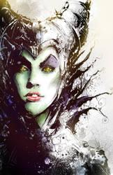 Maleficent by VVernacatola