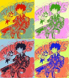 Landon Puppeter: Warhol Effect by Dusty-kins
