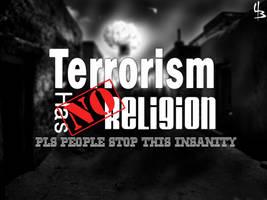 Terrorism has no religion by devilmaycryub