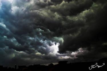 Black clouds by devilmaycryub