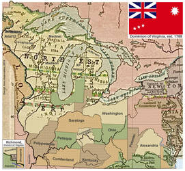 Dominion of Virgina, established 1788 by GeneGreigh