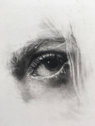 Eye Study by VictoriaSteel
